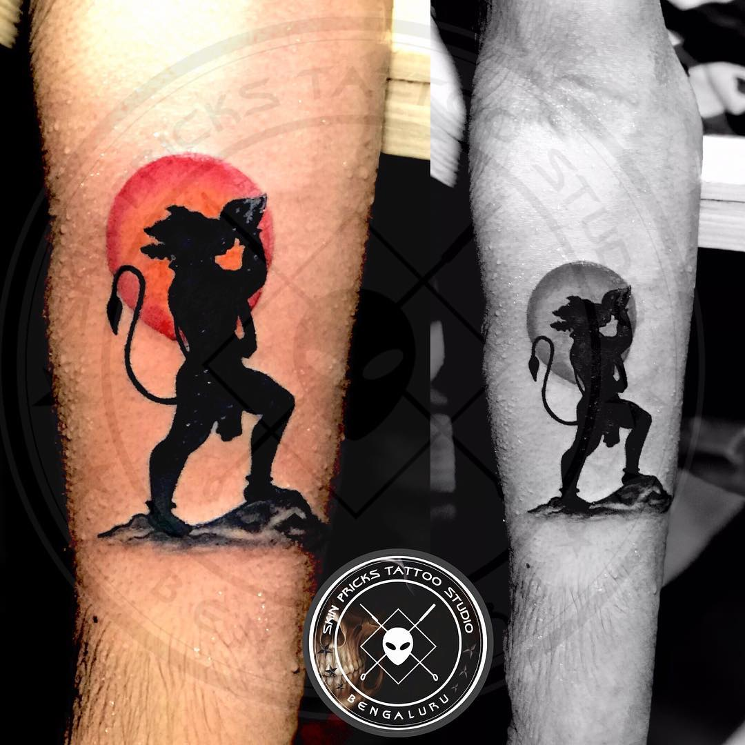Hanuman tattoo from Skin Pricks