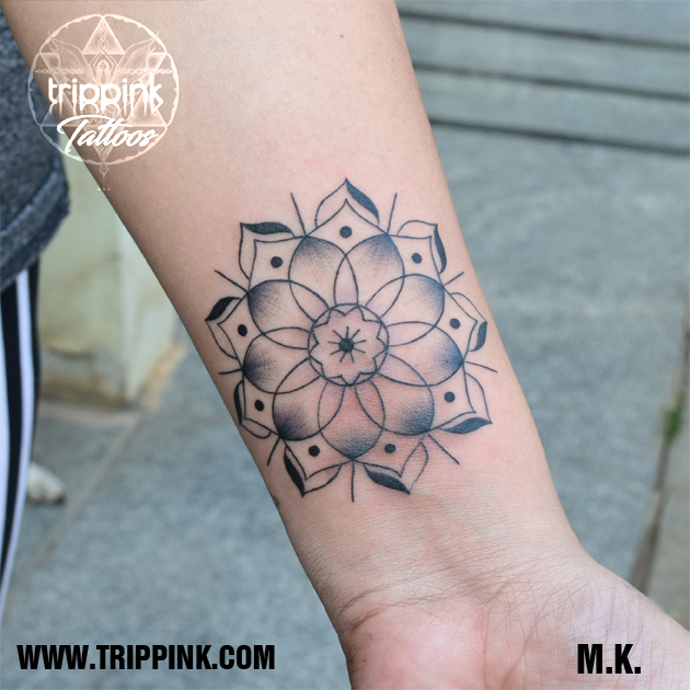 Mandala tattoo from Trippink