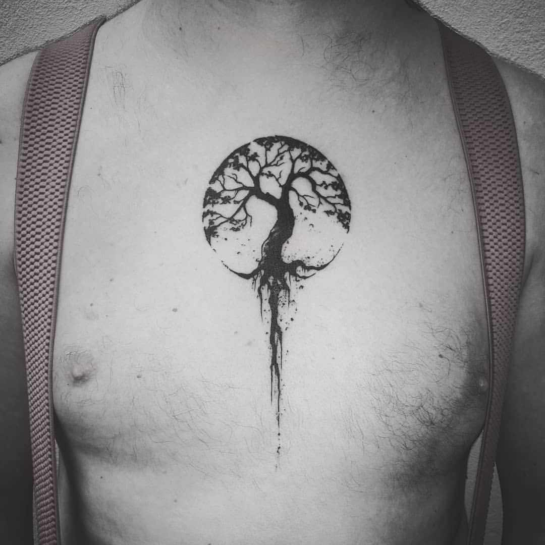 Yggdrasil Norse Mythology Tattoos Tattoo Design