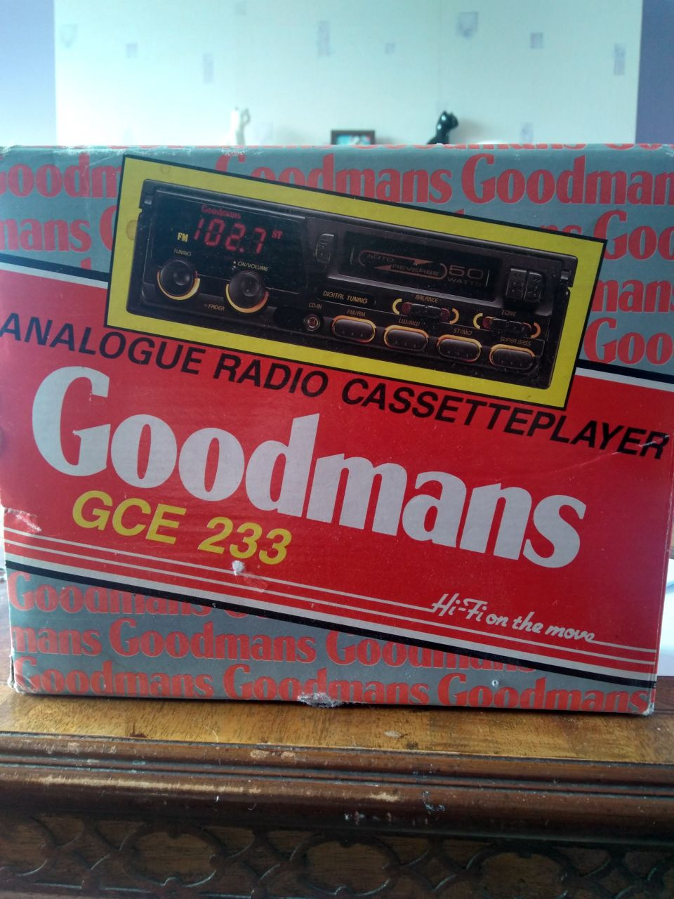 Vintage radio cassette player Wetherby new Goodmans GCE 233