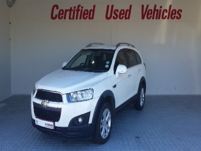 Demo Chevrolet Captiva 24 Lt Mccarthy