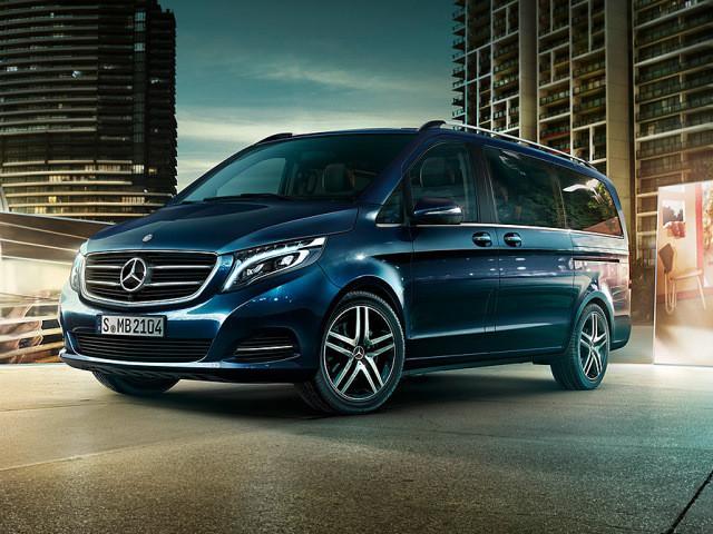 New mercedes benz v class v250d bluetec dsl mpv at for Mercedes benz mpv
