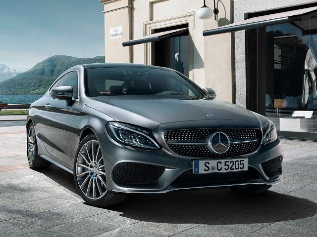 MERCEDES BENZ C CLASS C200 COUPE AT