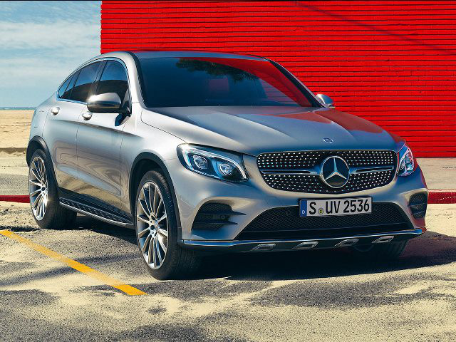 New Mercedes Benz Glc 250d Coupe Suv 4matic Dsl At
