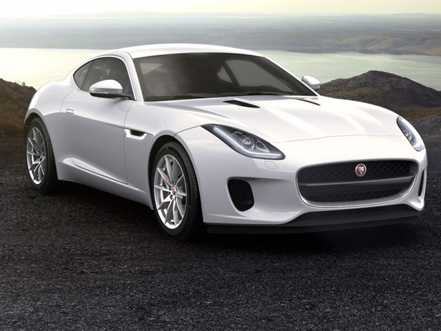 JAGUAR F TYPE 3.0 V6 COUPE 250KW SUPERCHARGED AT