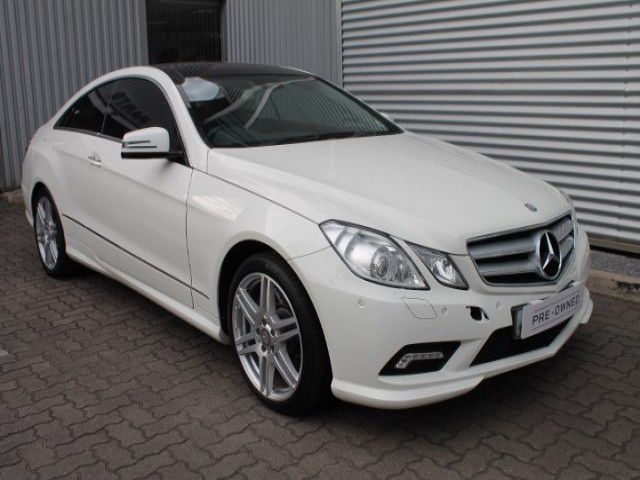 Demo Mercedes Benz E Class E500 Coupe Mccarthy Co Za