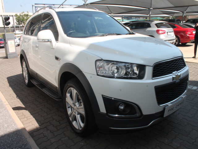 Demo Chevrolet Captiva 22d Ltz 4x4 At Mccarthy