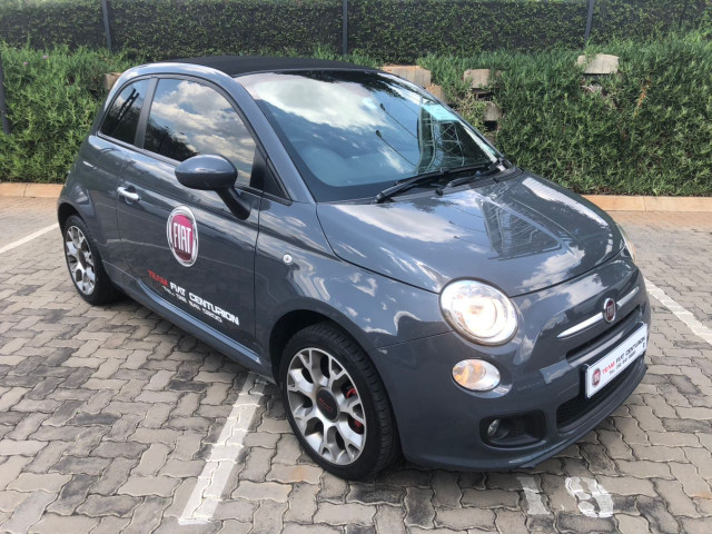 used fiat 500 1 4 sport cabriolet. Black Bedroom Furniture Sets. Home Design Ideas