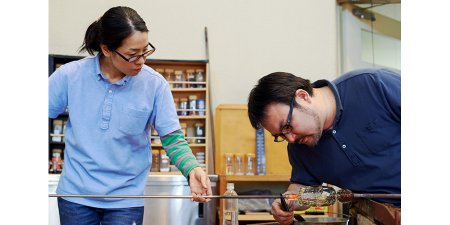 Mori-no-Kuni Glass Workshop Kazane