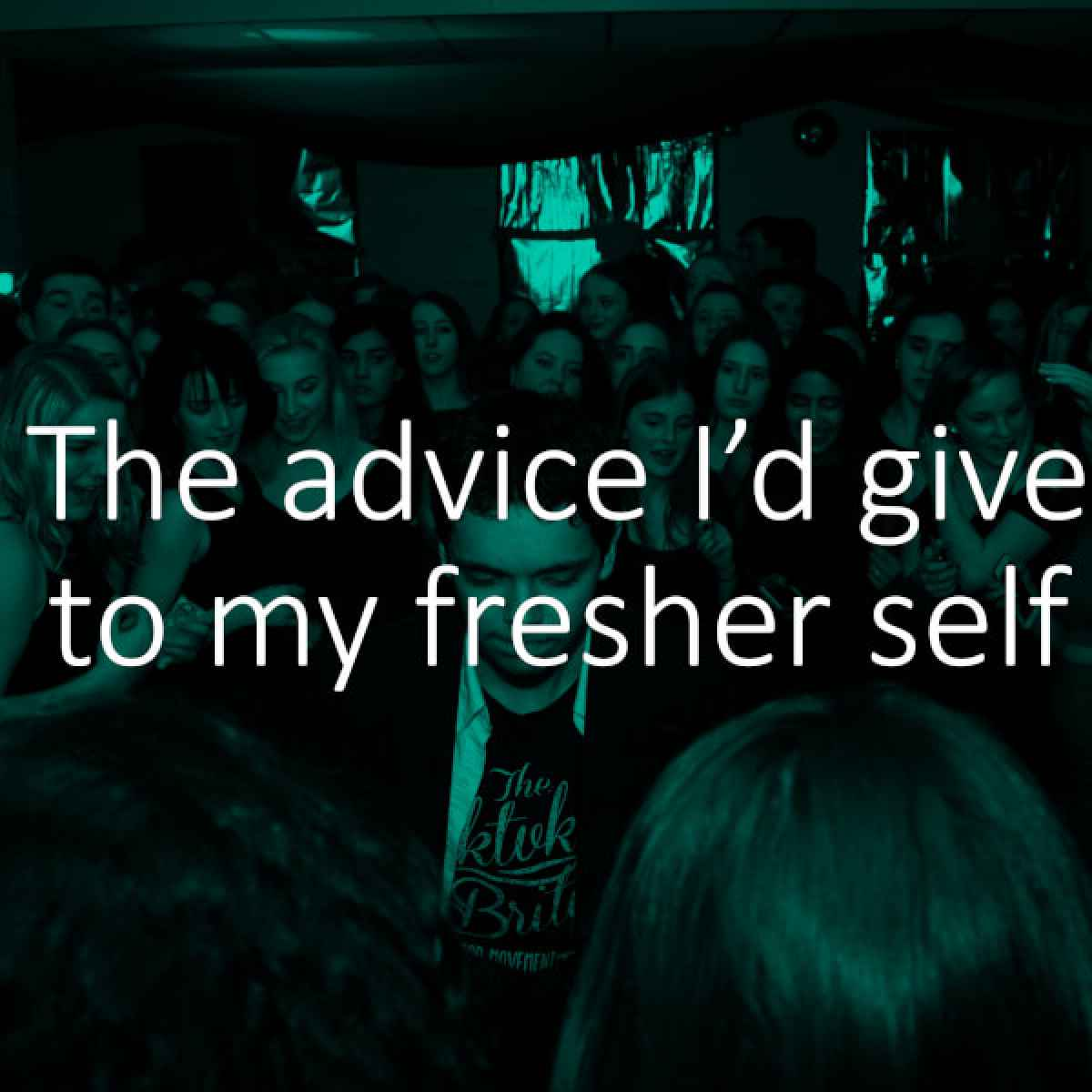 Advice for fresher self
