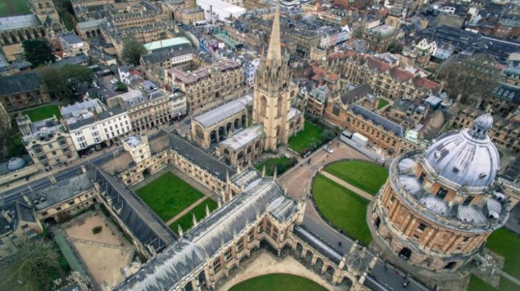 Oxford University didn't make the top 5