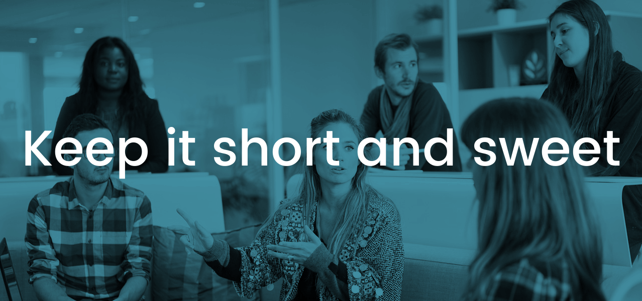 Unproductive Meetings - Keep it Short