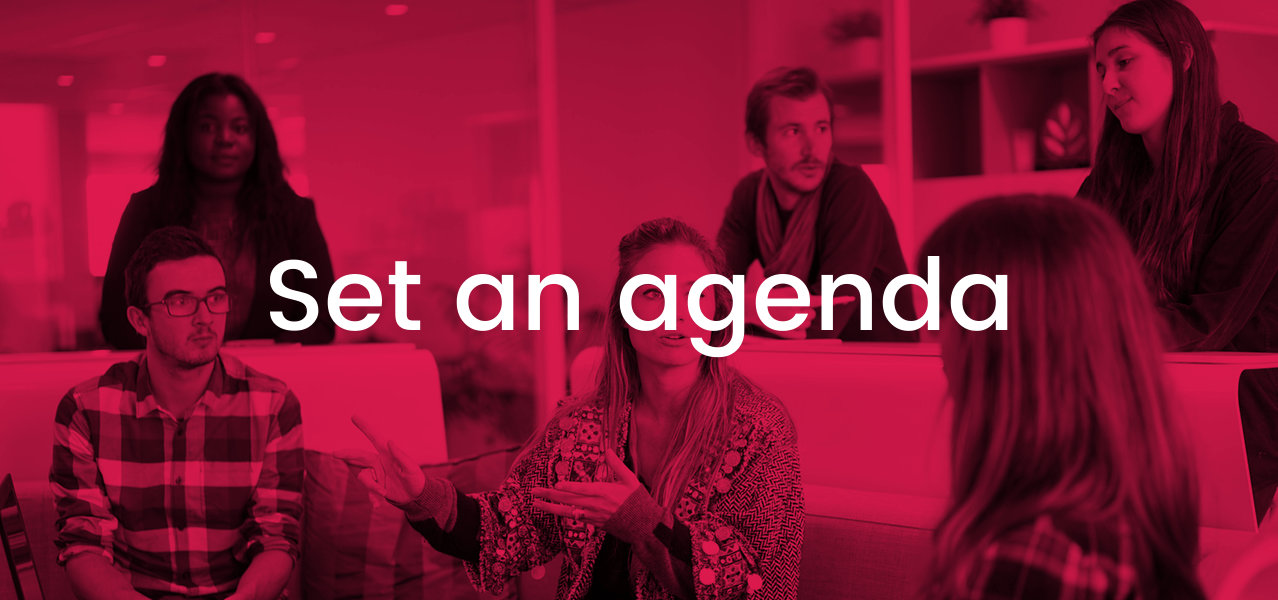 Unproductive Meetings - Set an Agenda
