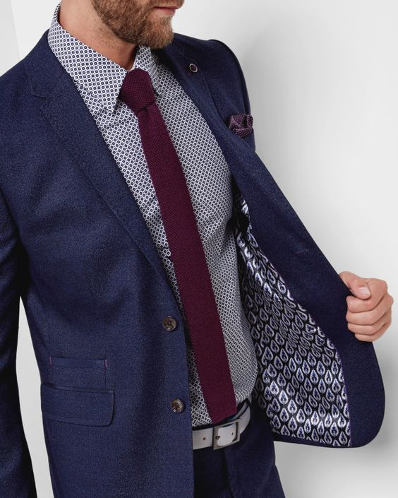 smart casual suit