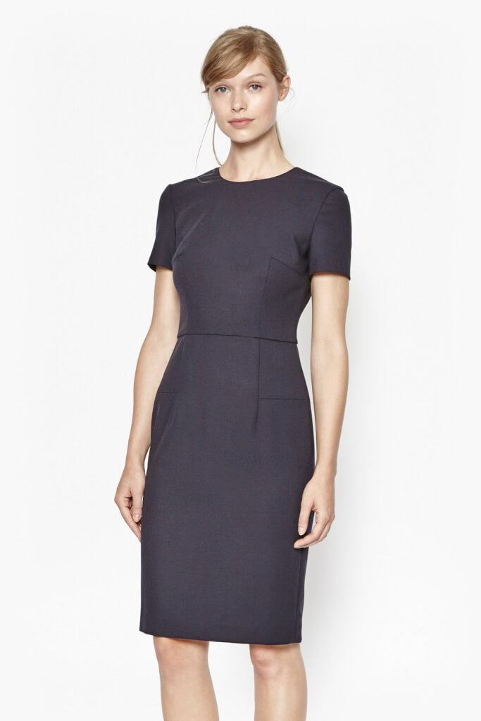 work wardobe pencil dress
