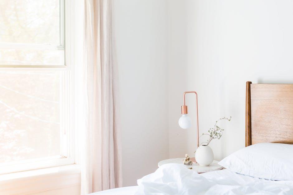 bedroom study space