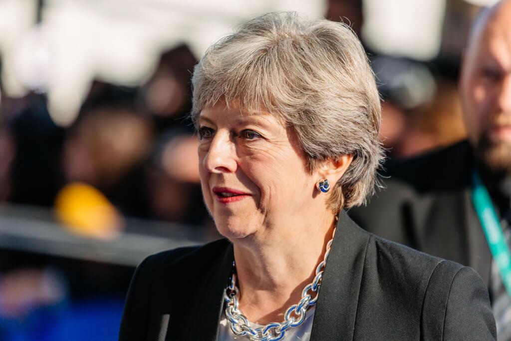 Theresa May international students