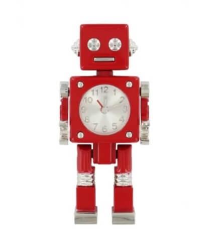 stationary robot clock
