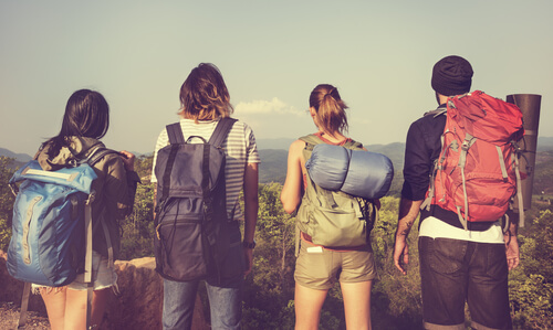 young people travel
