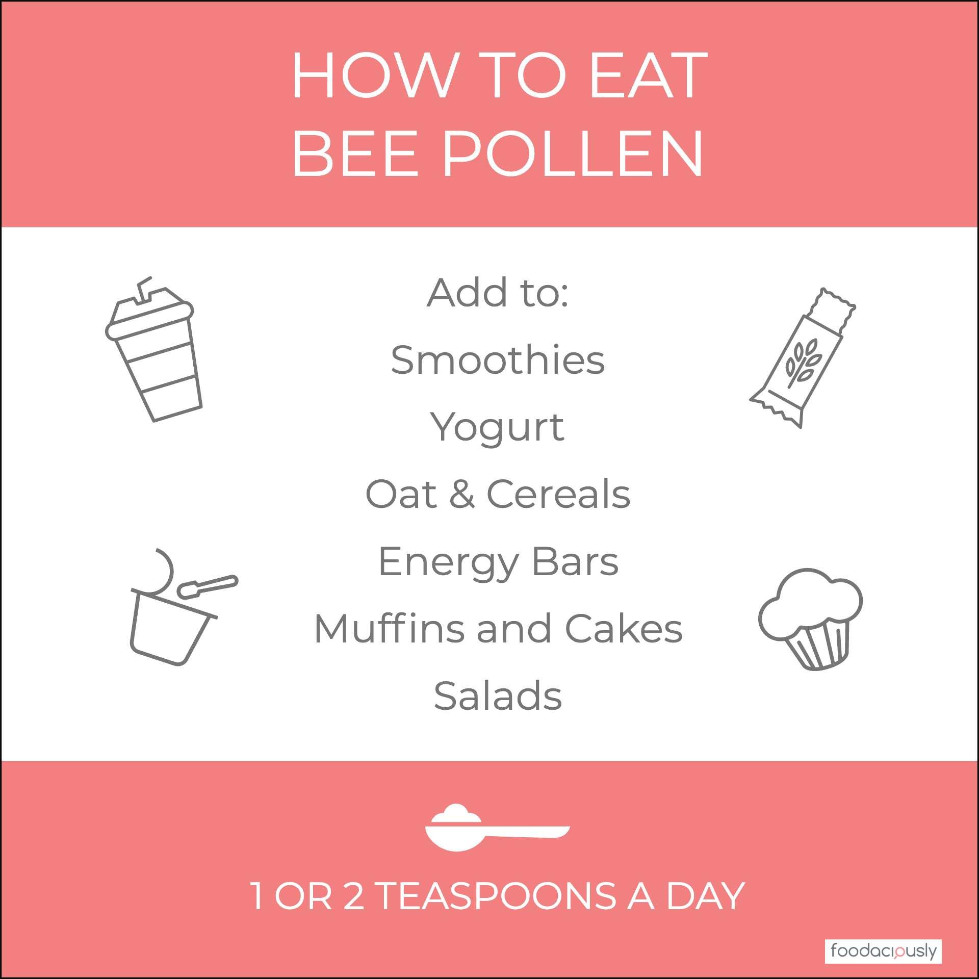 How To Eat Bee Pollen