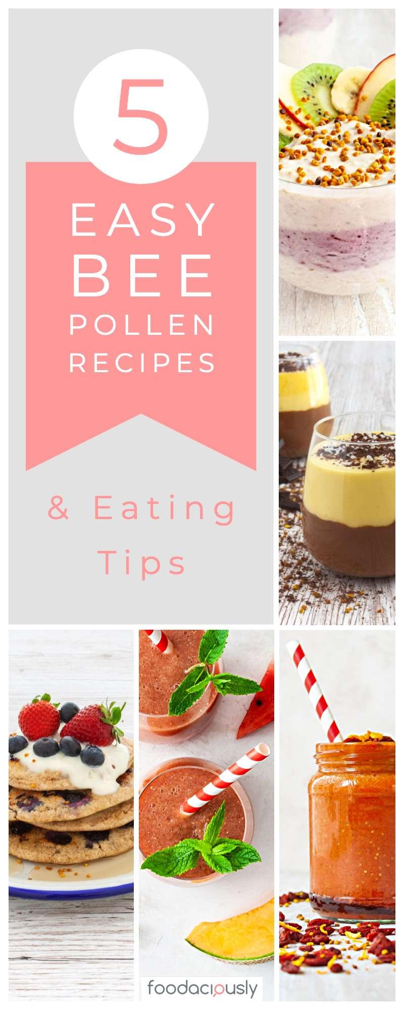 5 Easy Bee Pollen Recipes