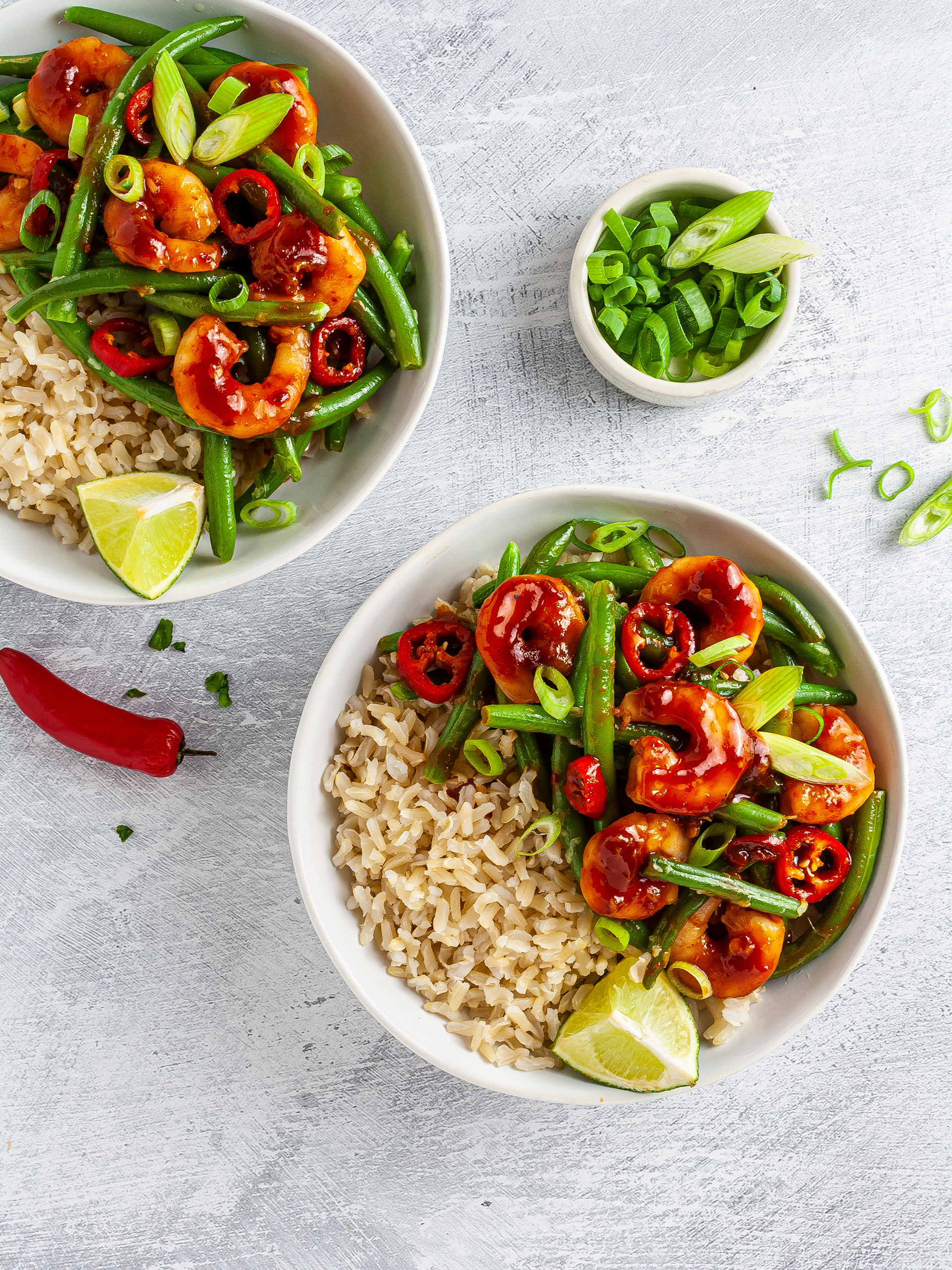 Sweet Chilli Prawn Rice Recipe Thumbnail