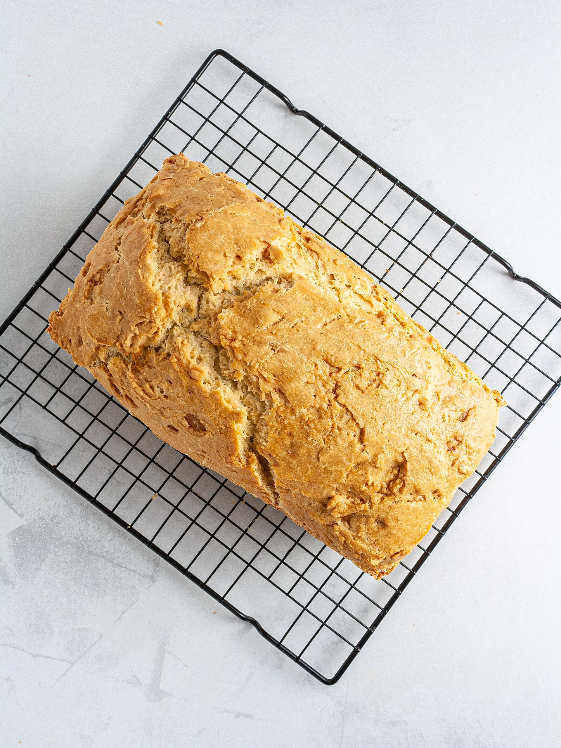 Baked brioche bread