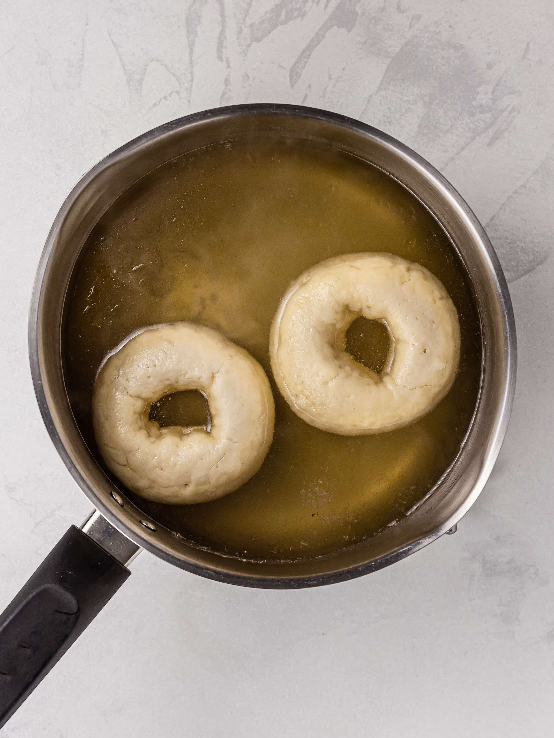 how to boil gluten free bagels