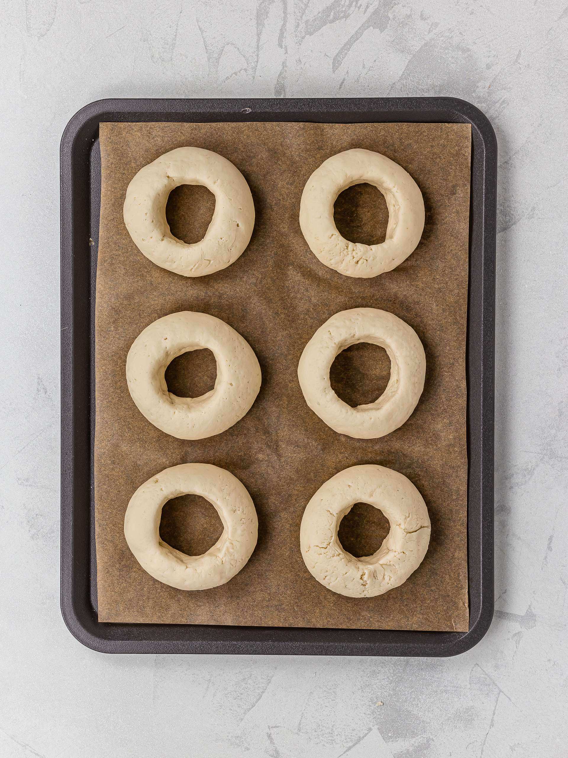 proved gluten-free bagels