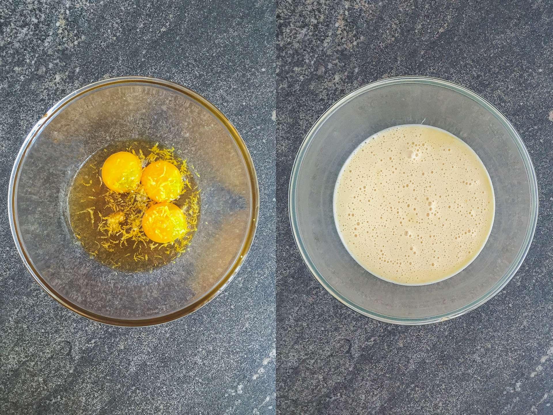 Step 1.1 of Gluten Free Italian Pear Cake with Honey Glaze Recipe