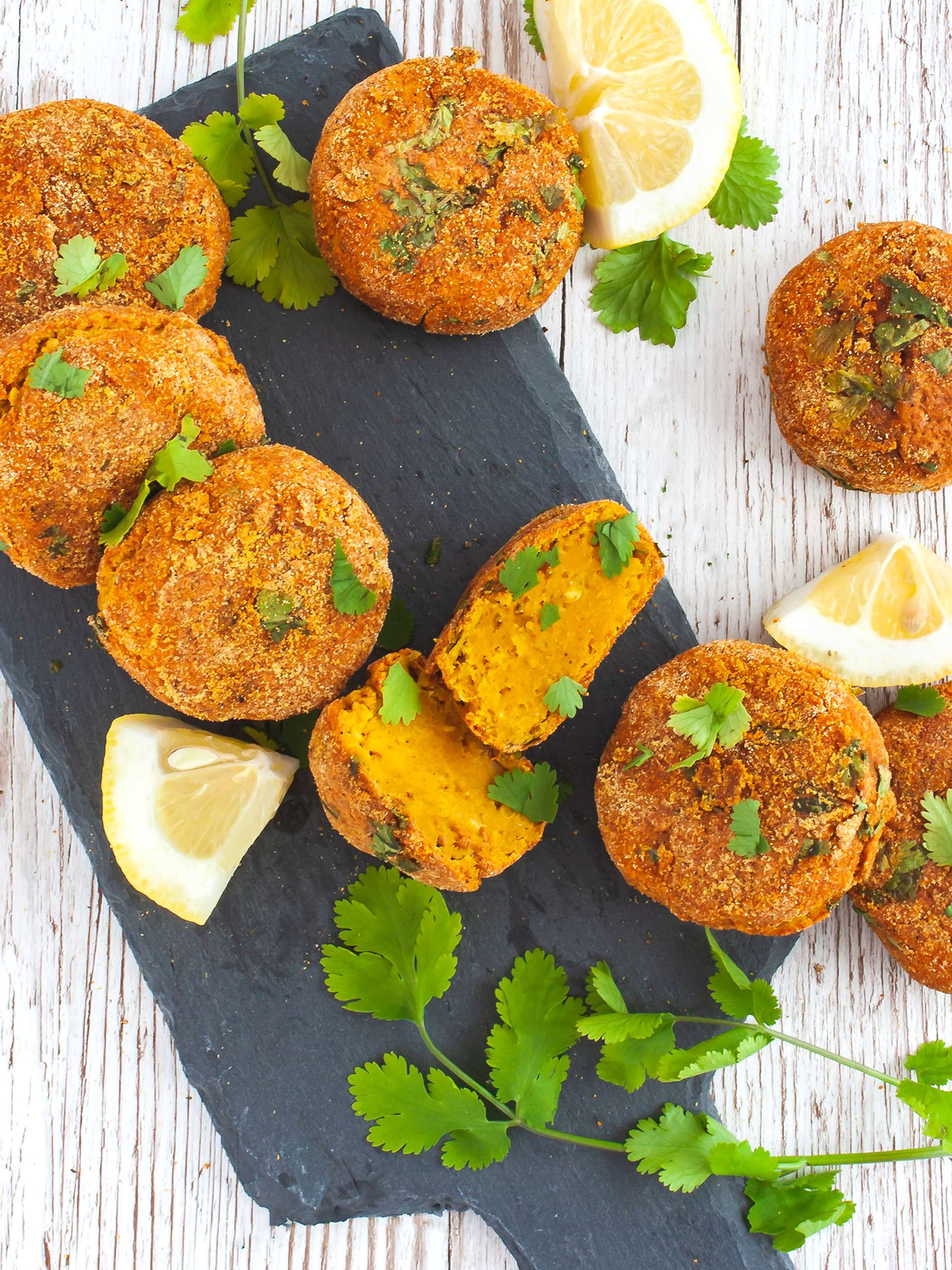 Baked Lentil and Sweet Potato Croquettes