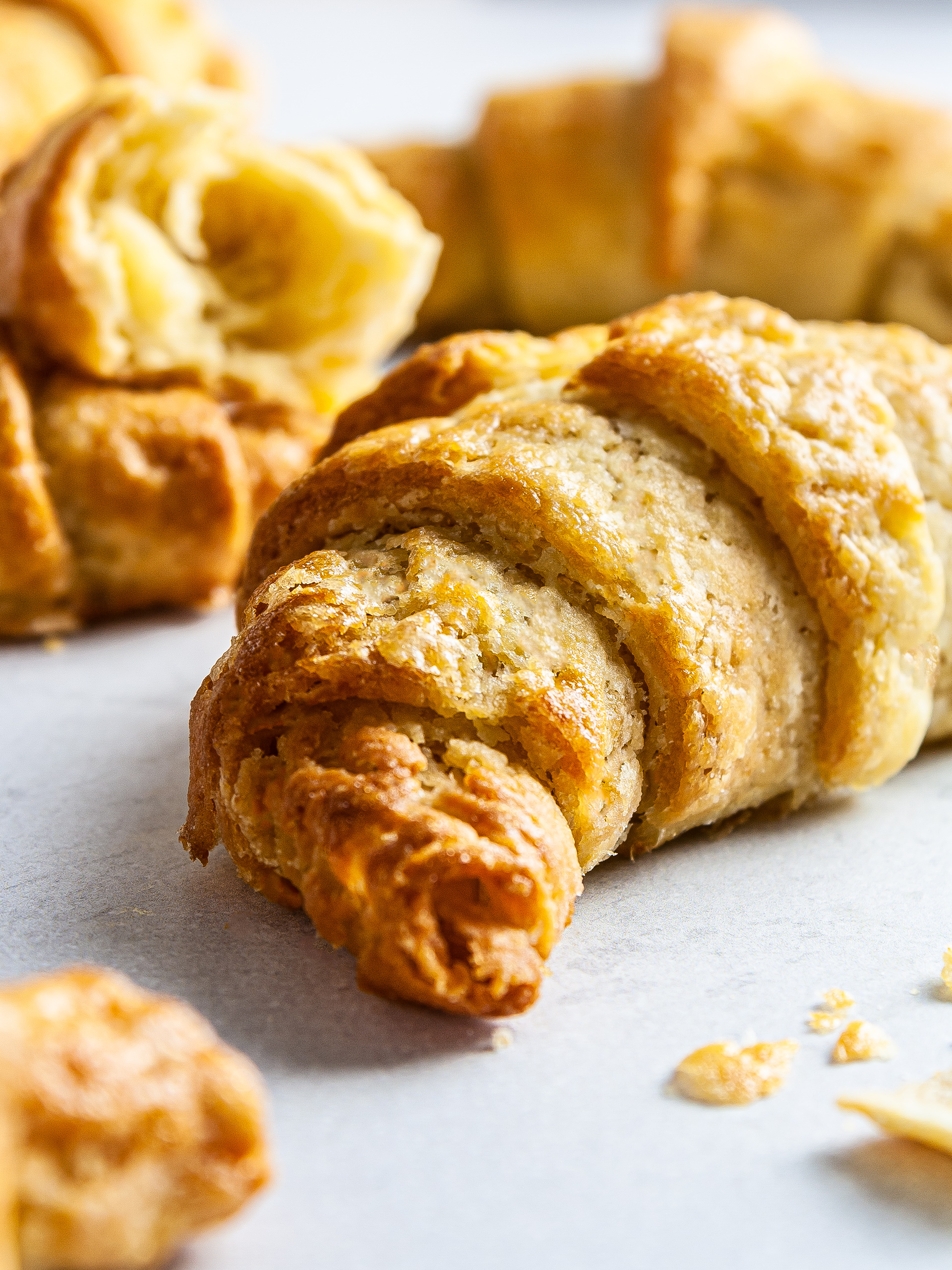 {Dairy-Free, Gluten-Free} Croissant Recipe Thumbnail