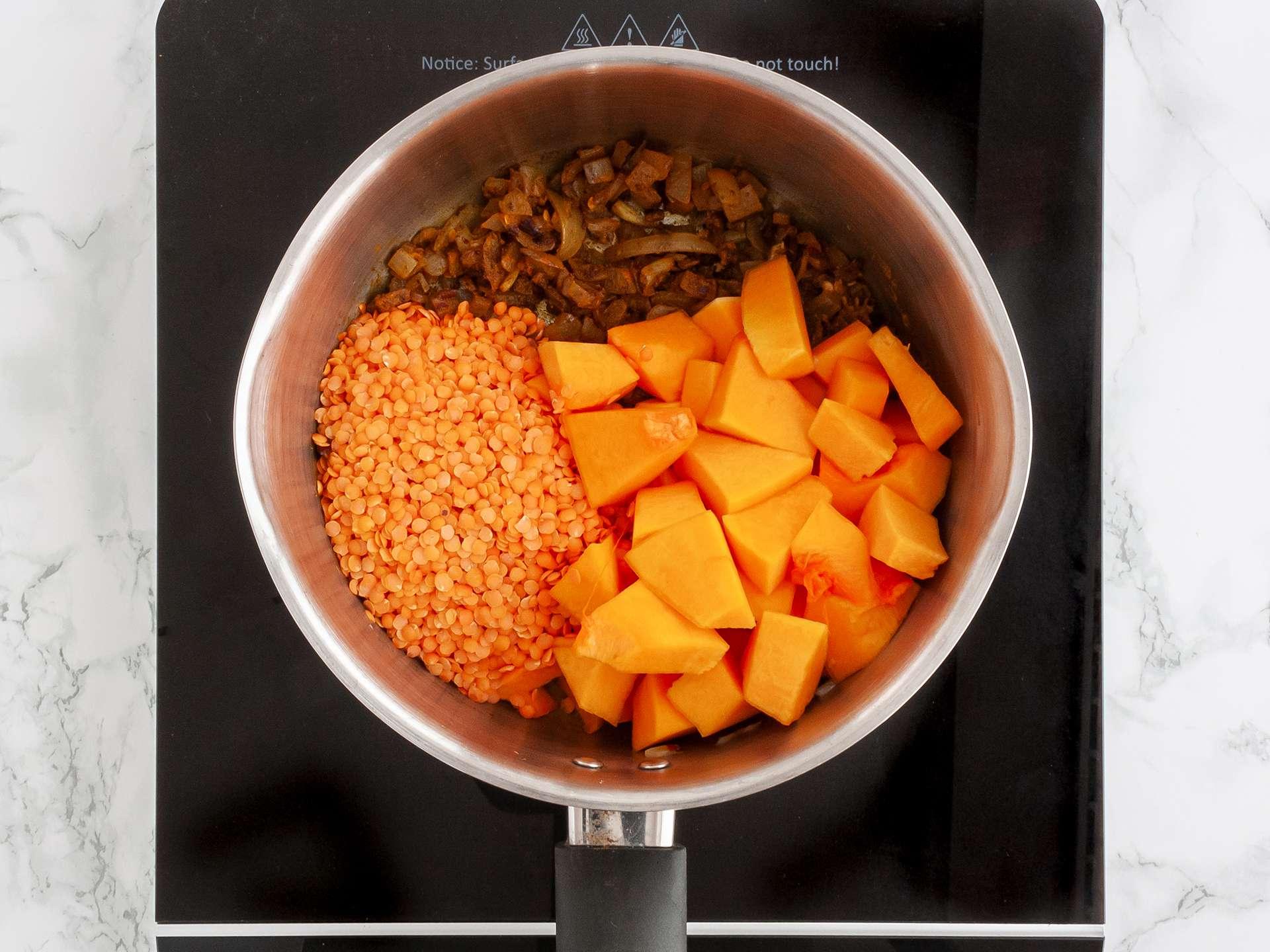 Step 1.1 of Butternut Squash Velouté Soup Recipe