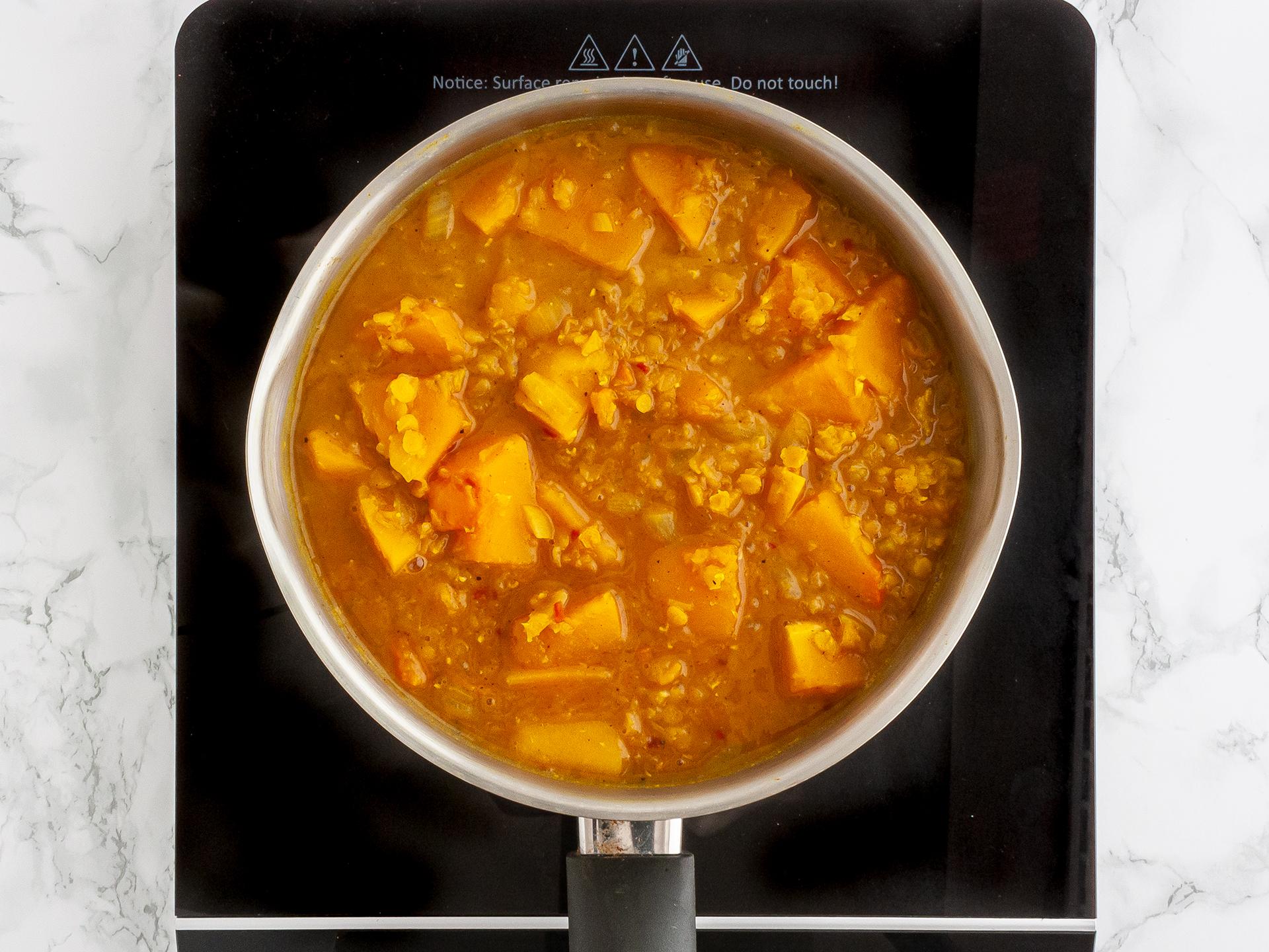 Step 2.1 of Butternut Squash Velouté Soup Recipe