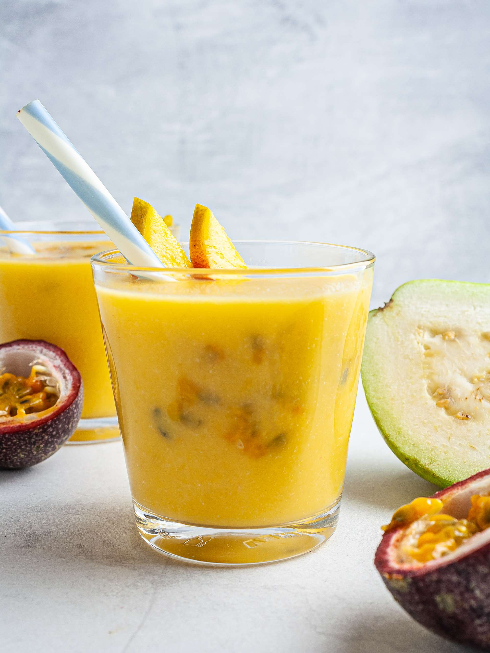 Tropical Guava Mango Smoothie Recipe