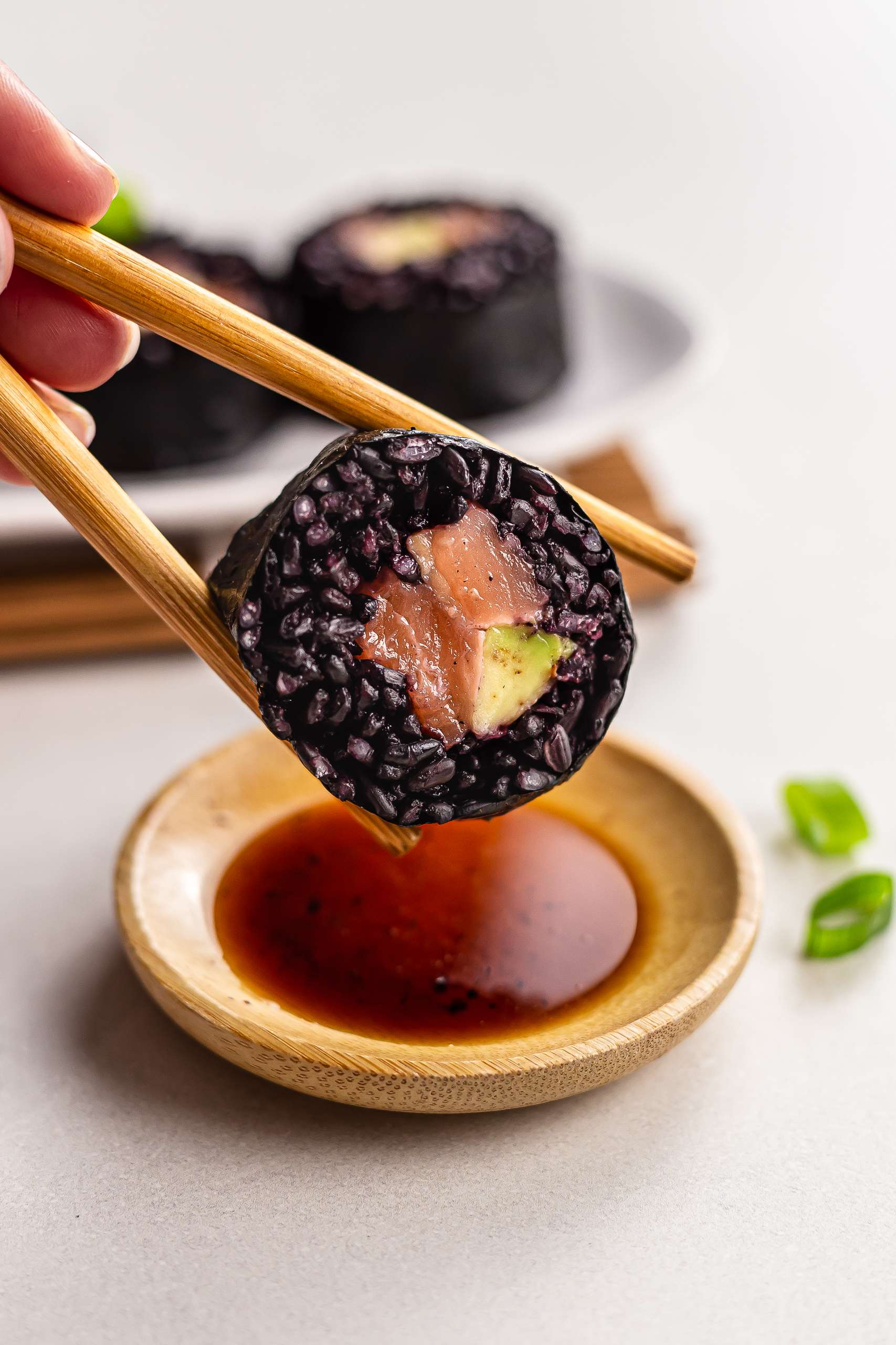 Black Rice Sushi Recipe Thumbnail