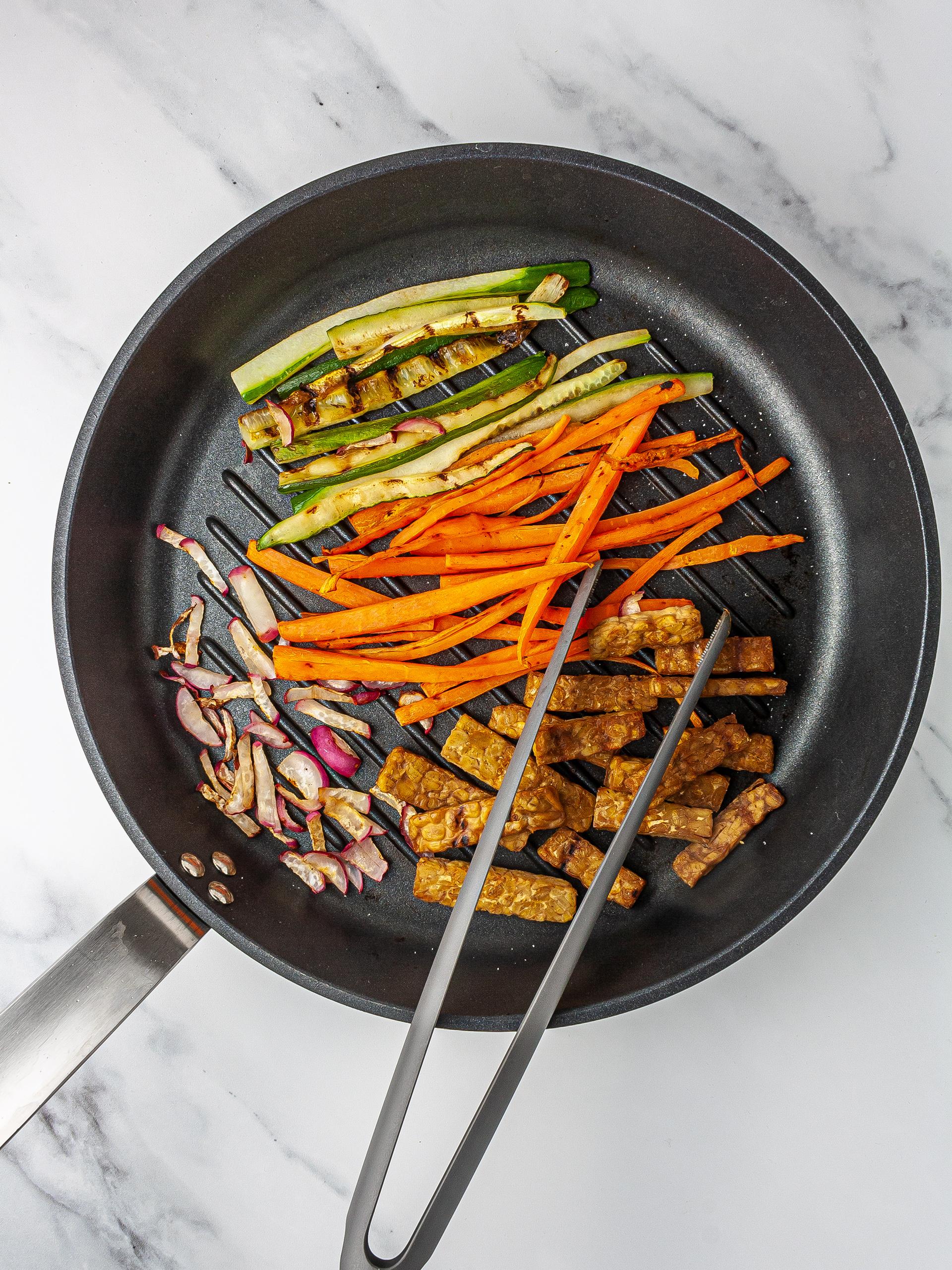 Step 2.2 of Vegan Kimbap Recipe with Tempeh