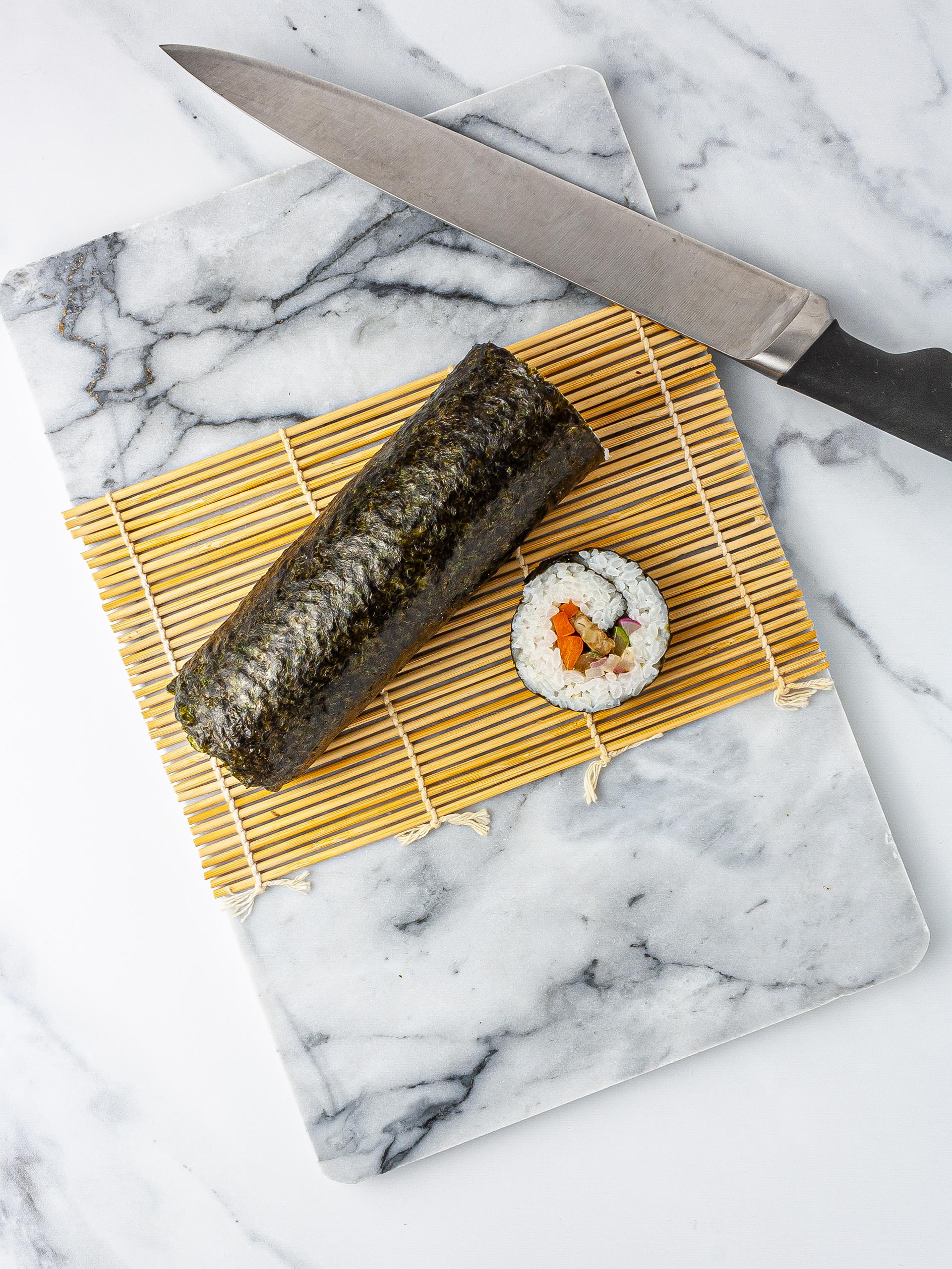 Step 3.2 of Vegan Kimbap Recipe with Tempeh