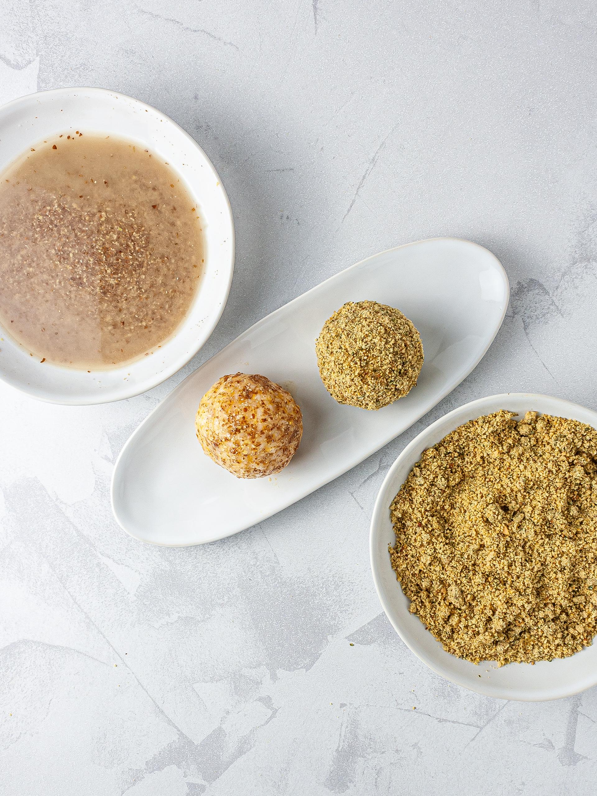 Step 4.2 of Gluten-Free Seafood Rice Balls Recipe