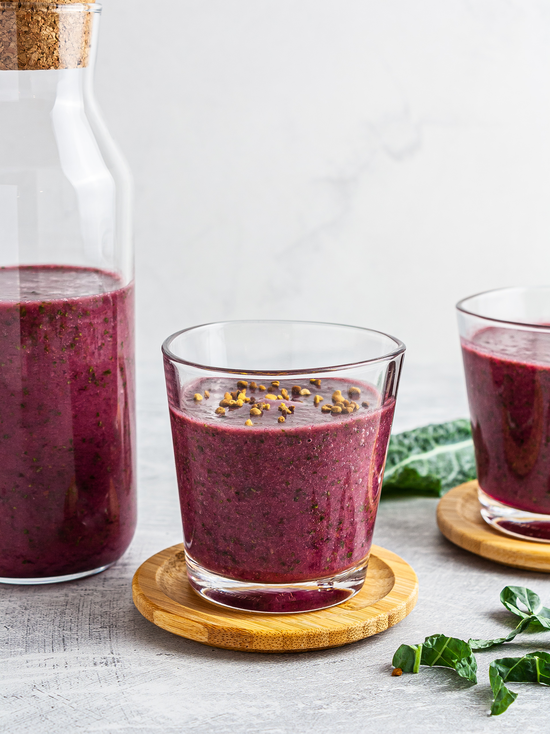 Beet and Kale Smoothie Recipe Thumbnail