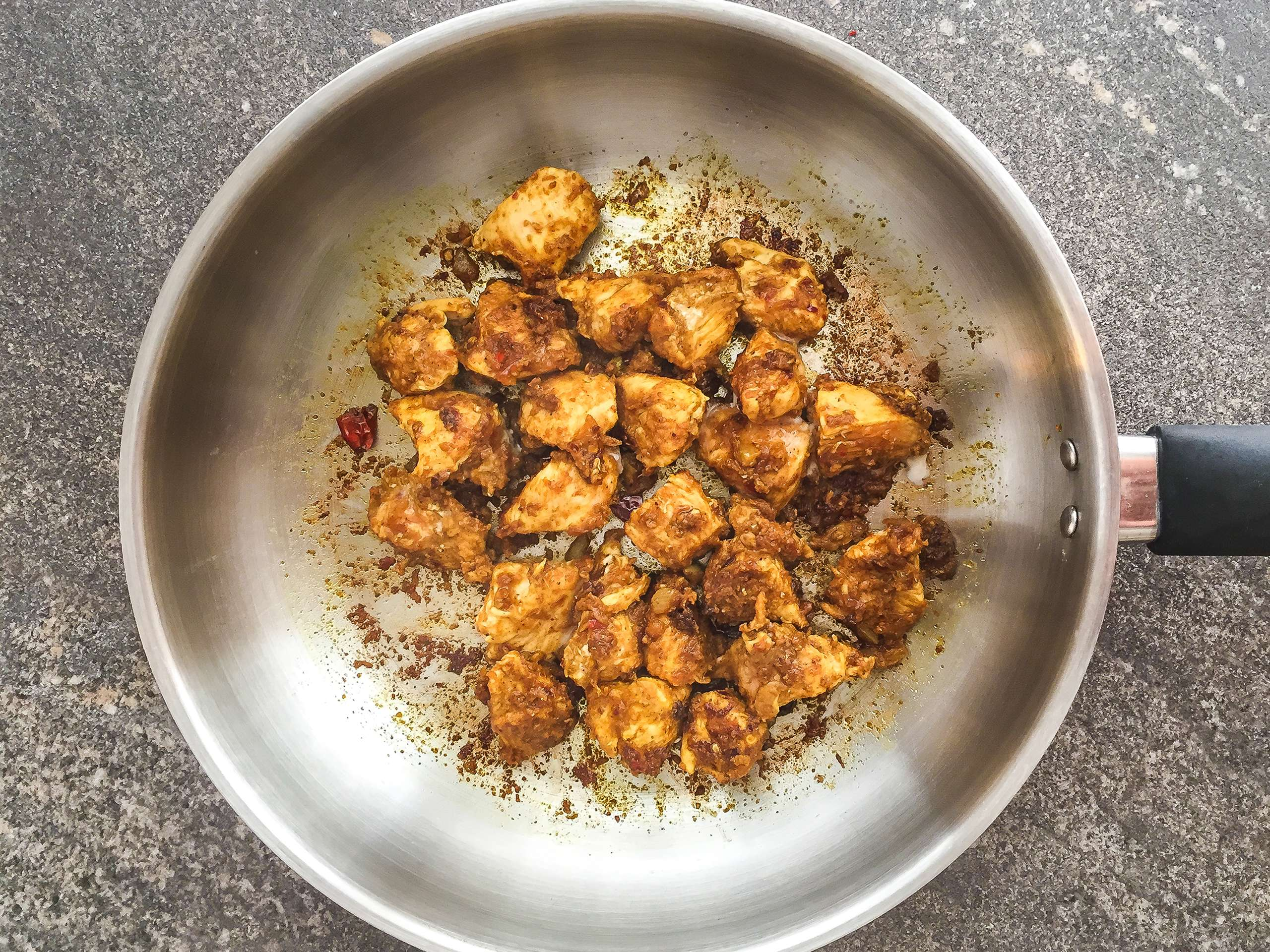 Step 1.1 of Dairy-free Healthy Simple Chicken Saag Recipe