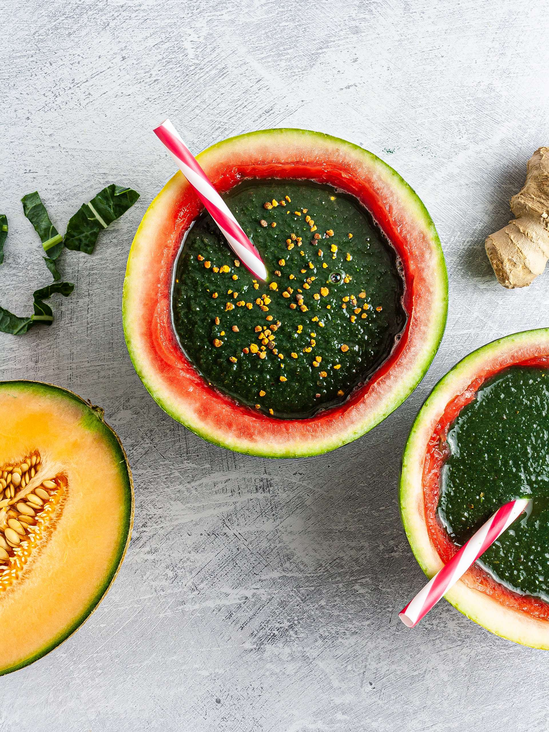 Watermelon Kale Smoothie Recipe