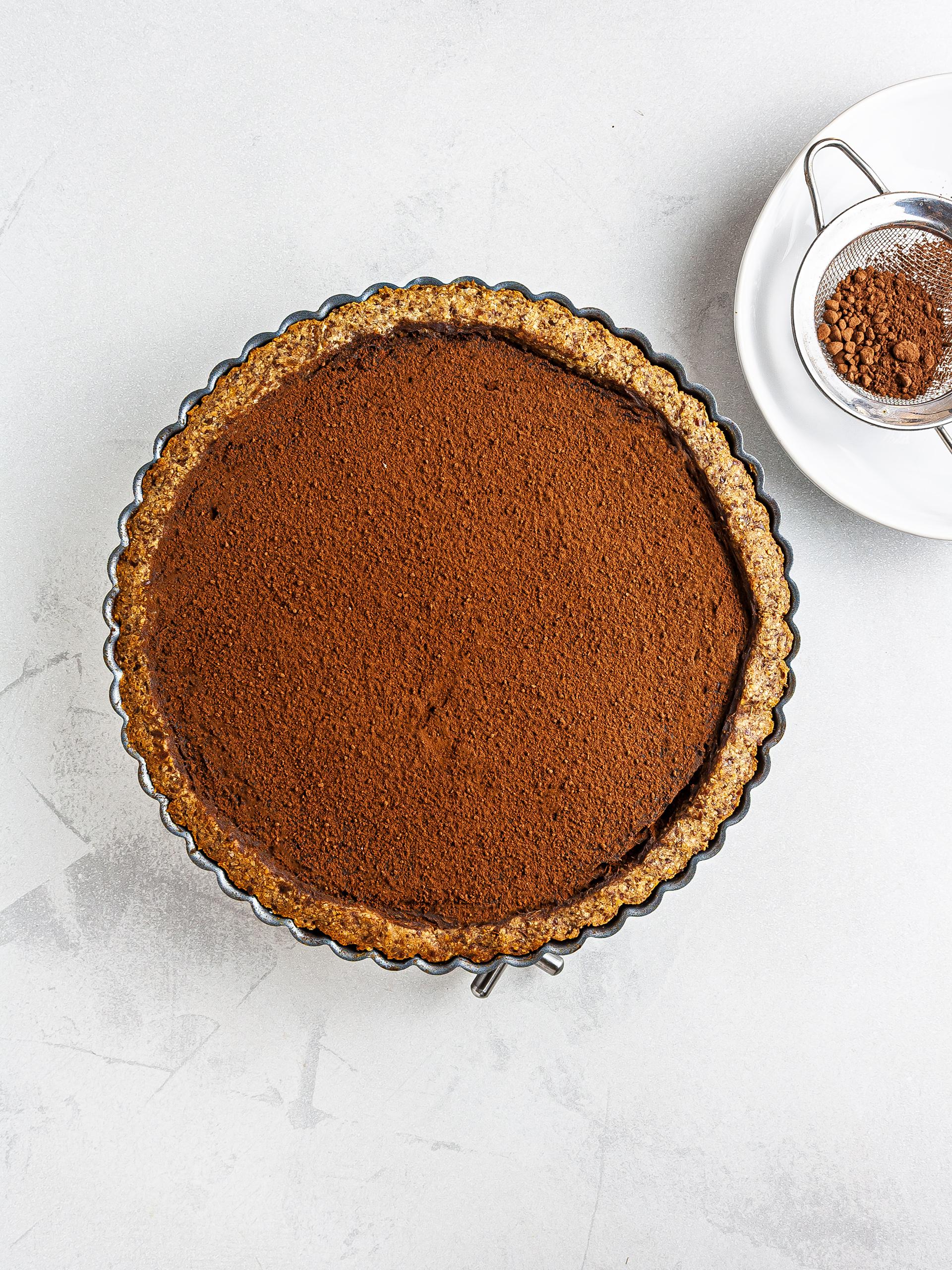 Step 7.2 of {Vegan, GF, Sugar-Free} Sweet Potato Chocolate Pie