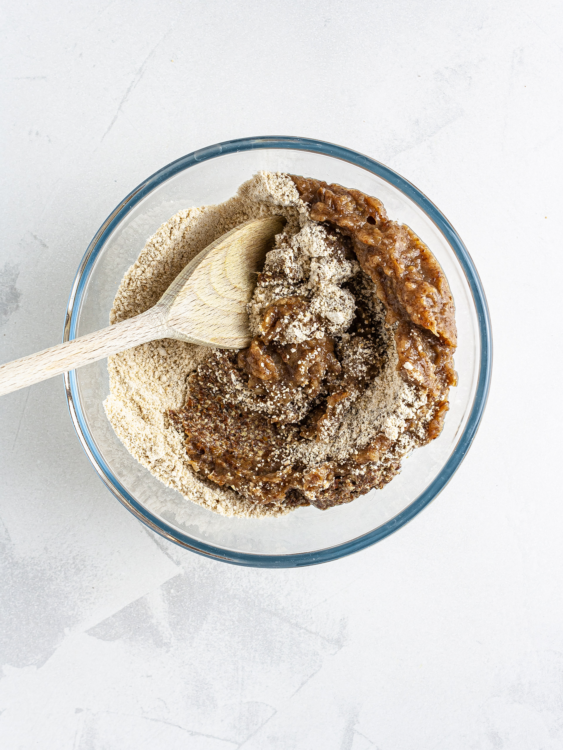 Pie crust dough with oats