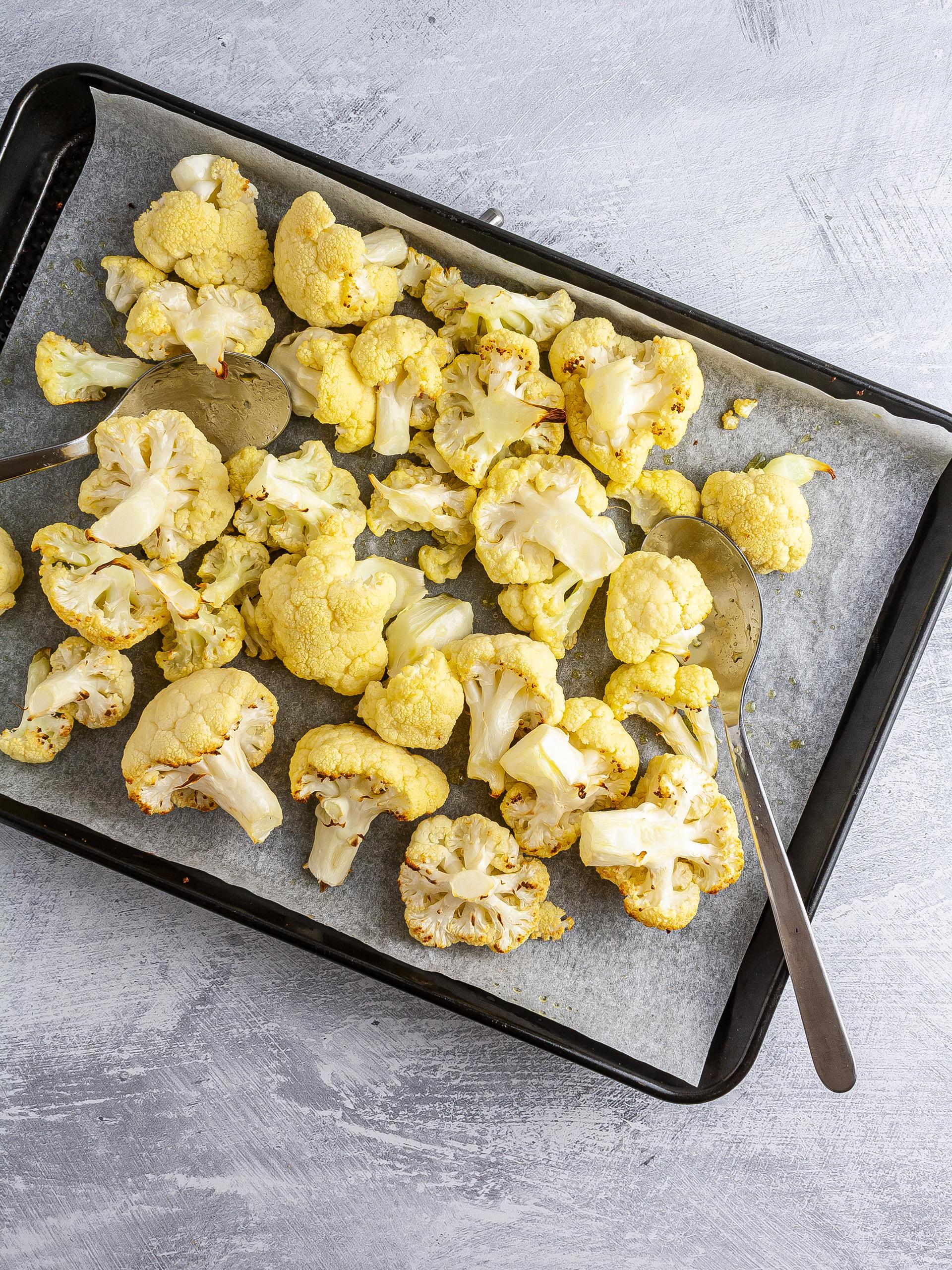 Roasted cauliflowers