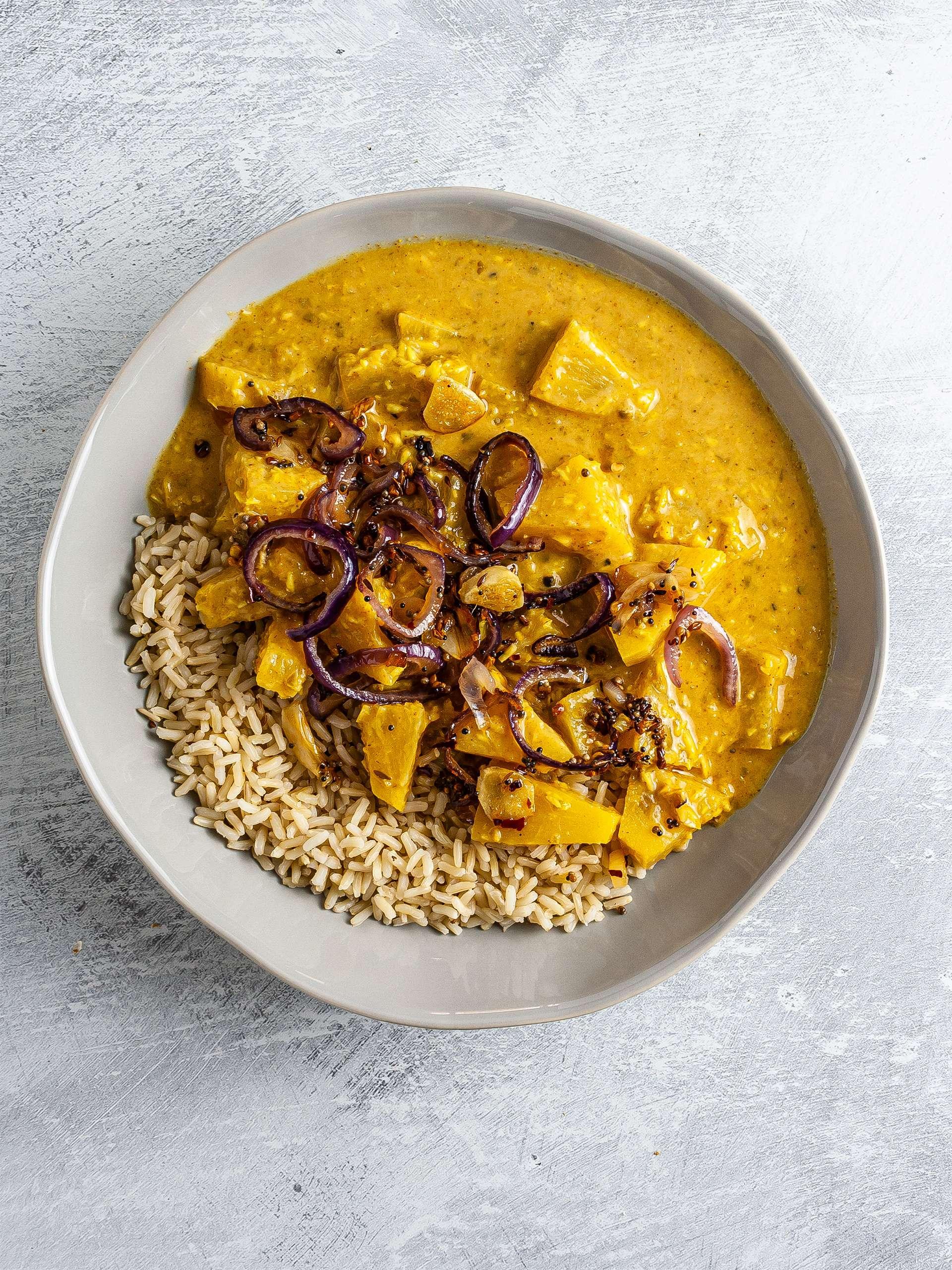 Step 4.2 of Pineapple Pachadi Curry Recipe