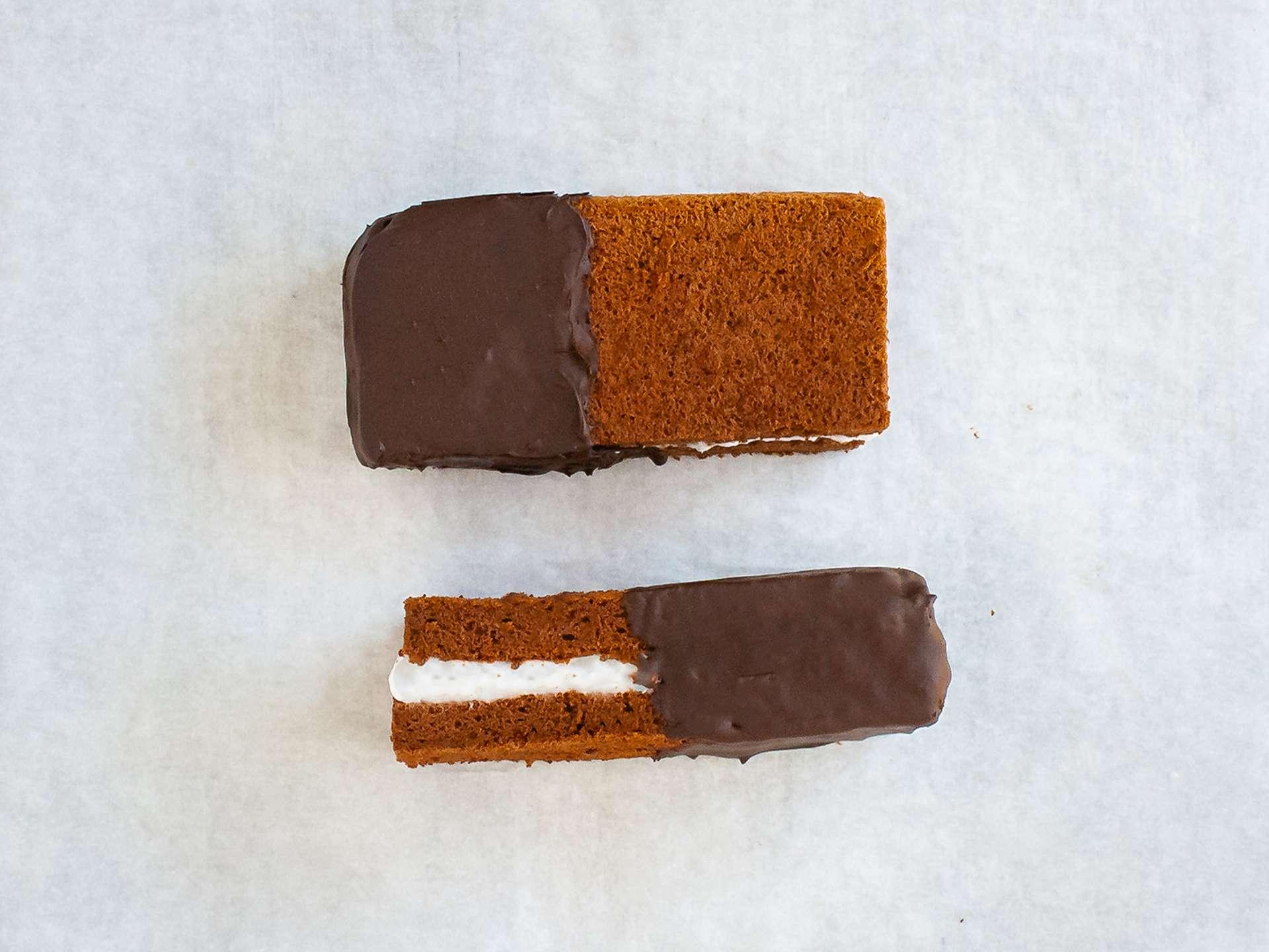 Step 5.2 of Dairy Free Chocolate Sandwich Cake Bar
