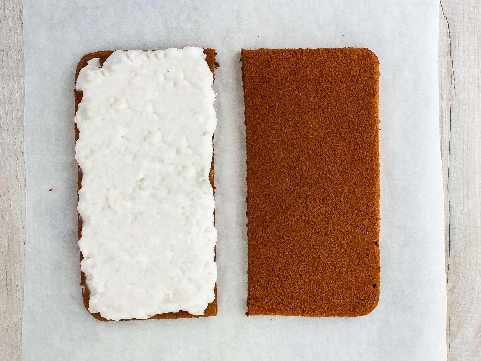 Step 4.1 of Dairy Free Chocolate Sandwich Cake Bar