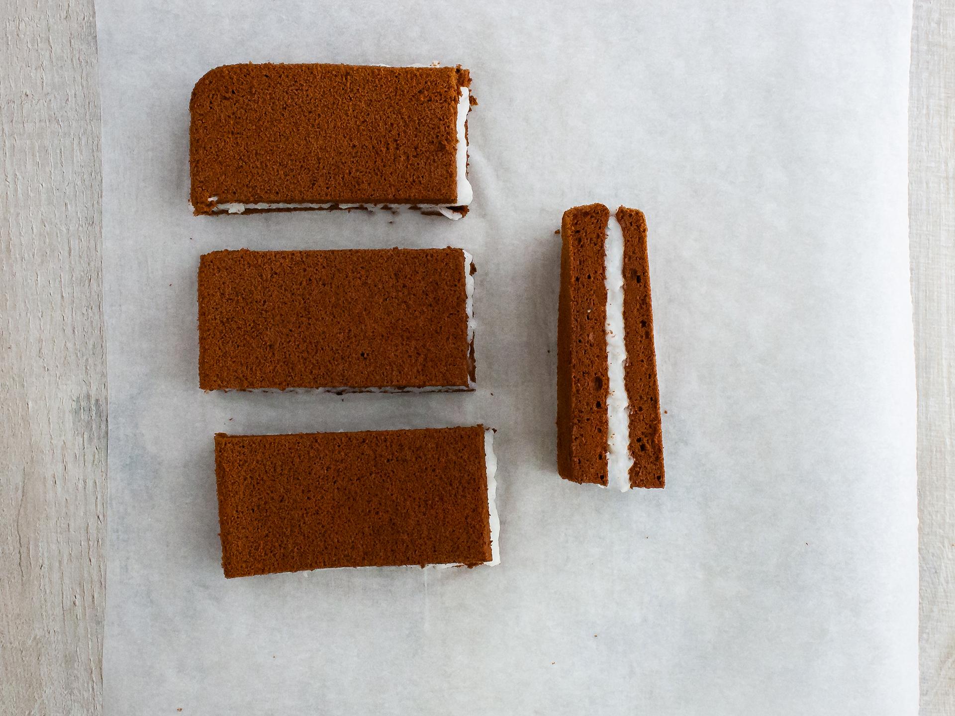 Step 4.2 of Dairy Free Chocolate Sandwich Cake Bar