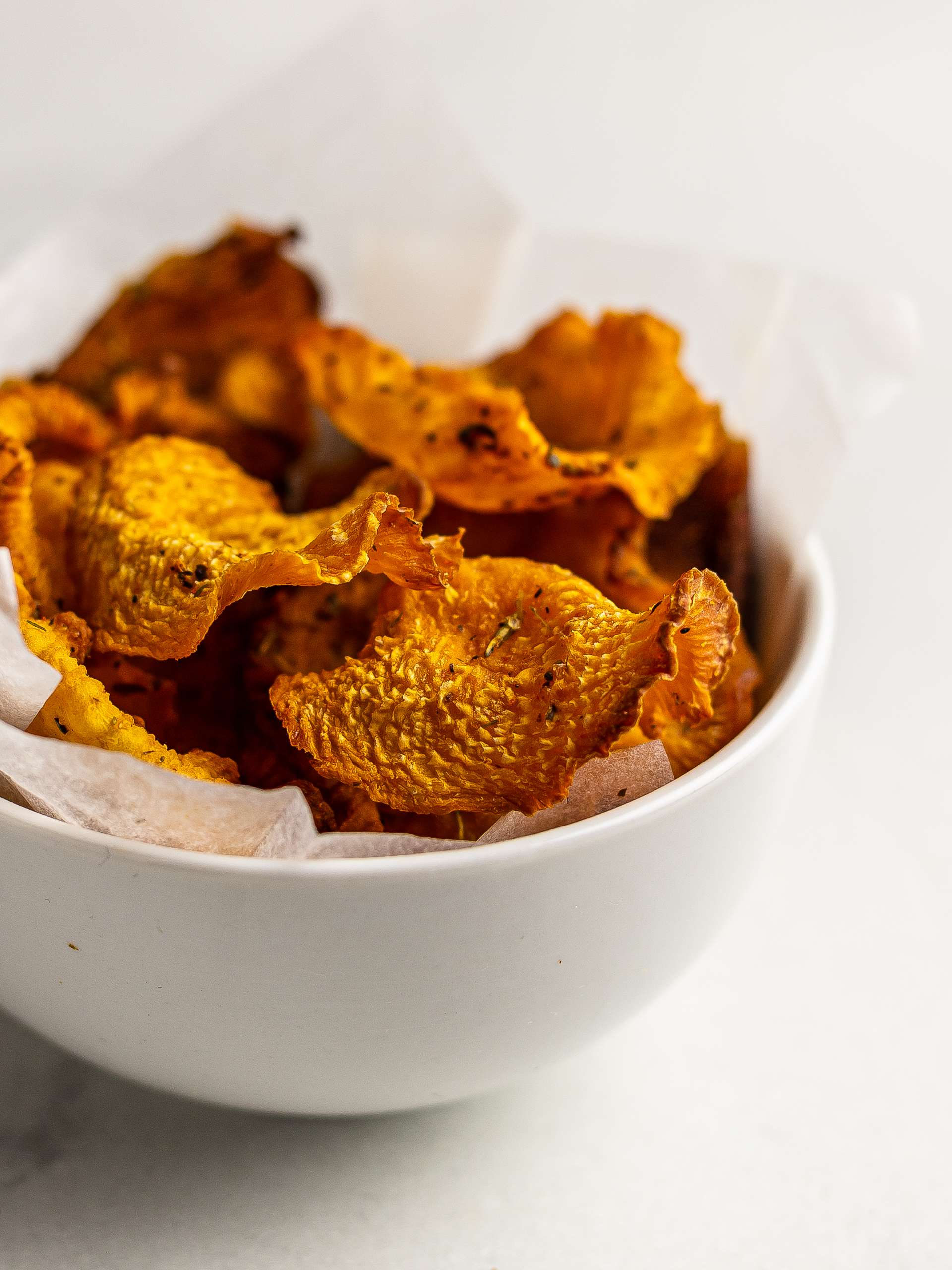 Oven-Baked Cajun Rutabaga Chips Thumbnail